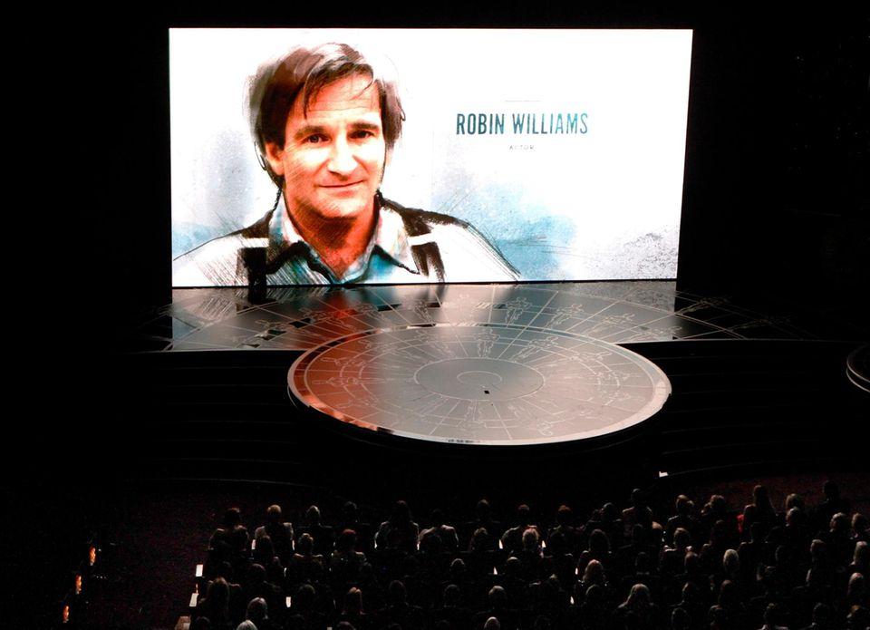 Robin Williams wird bei den Oscars 2015 in der Galerie der verstorbenen Filmschaffenden geehrt.