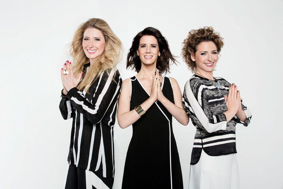 Lencke Steiner beim GALA-Shooting im Februar mit ihren FDP-Kolleginnen Katja Suding und Nicola Beer