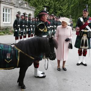 Queen Elizabeth in Balmoral