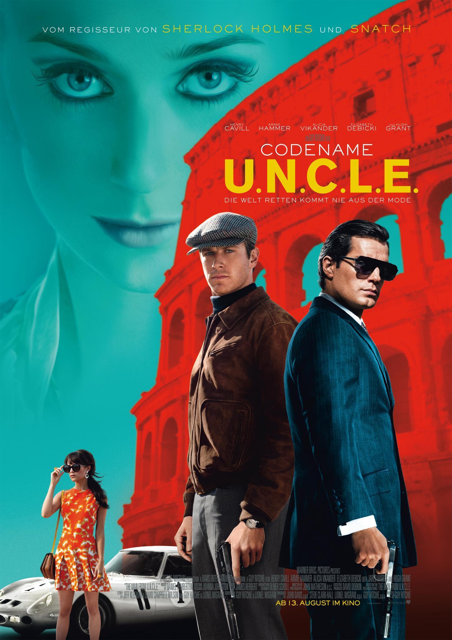 """Die Actionkomödie des Sommers """"Codename U.N.C.L.E"""""""
