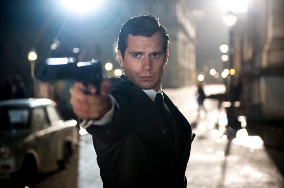 Henry Cavill als US-Geheimagent Napoleon Solo