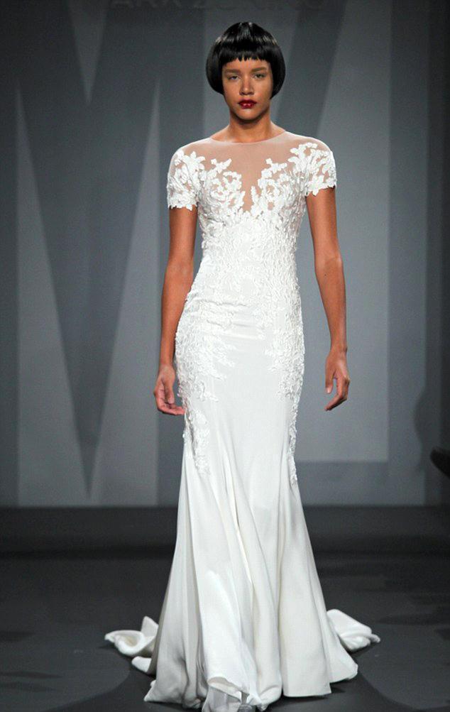 Das soll Marc Zuninos Hochzeitskleid für Jennifer Aniston sein.