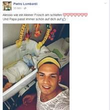 """Pietro Lombardi im Papa-Glück: Er zeigt seinen kleinen """"Frosch"""""""