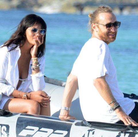 David Guetta und die unbekannte Schöne