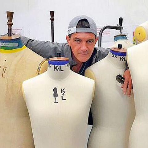 Antonio Banderas: Er studiert jetzt Mode-Design