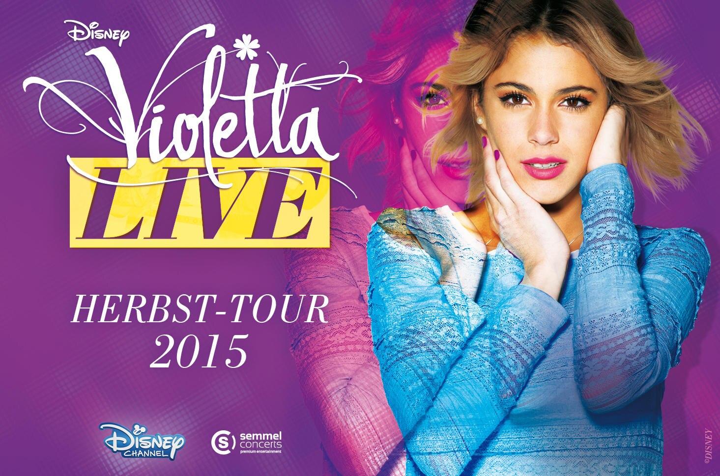 Violetta Live! Im Herbst geht die Arena-Tour der Erfolgsserie in Deutschland weiter.