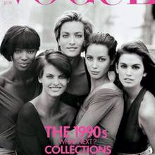 Cindy Crawford, Linda Evangelista, Tatjana Patitz, Christy Turlington, Naomi Campbell