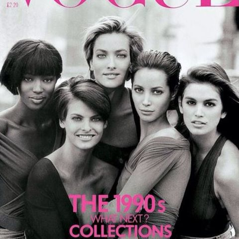 Cindy Crawford, Linda Evangelista, Tatjana Patitz, Christy Turlington, Naomi Campbell