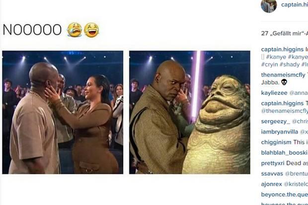 Kim Kardashian, Jabba the Hutt
