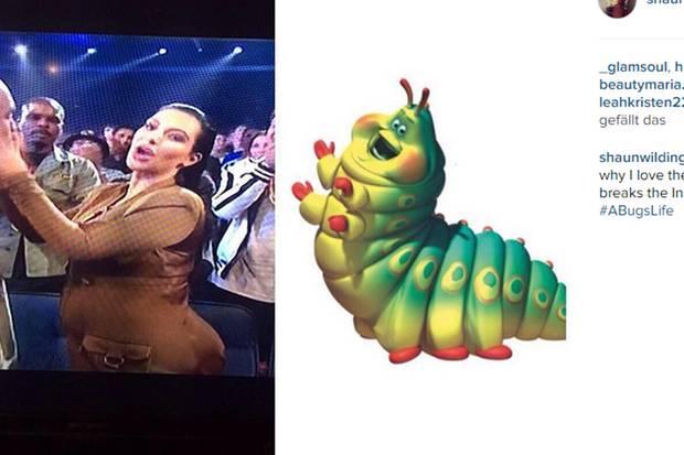 Kim Kardashian, Raupe Nimmersatt
