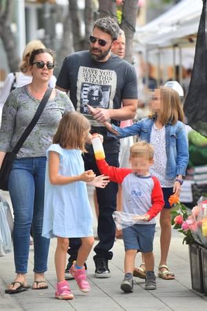 Ben Affleck, Kinder, Nanny