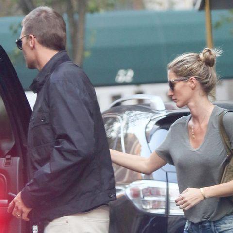 Tom Brady + Gisele Bündchen