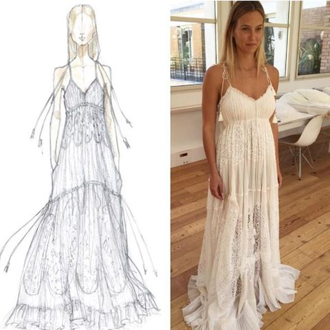 Bar Refaeli: So schön ist ihr Designer-Brautkleid