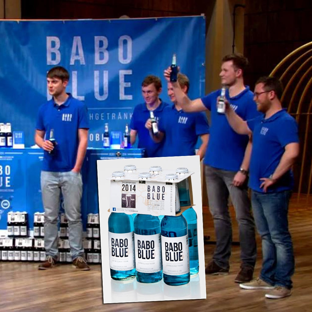 """Das """"Babo Blue""""-Team"""