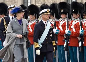 Königin Margrethe und König Carl Gustaf sind beide über 40 Jahre im Amt.