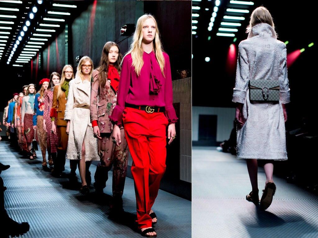 Superfeminin statt supercool: Starke Farben und Muster für den Herbst dominieren die aktuelle Kollektion