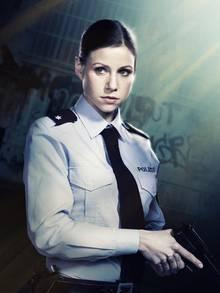 Katrin Heß ist 2011 als Polizistin Jenny Dorn zu sehen