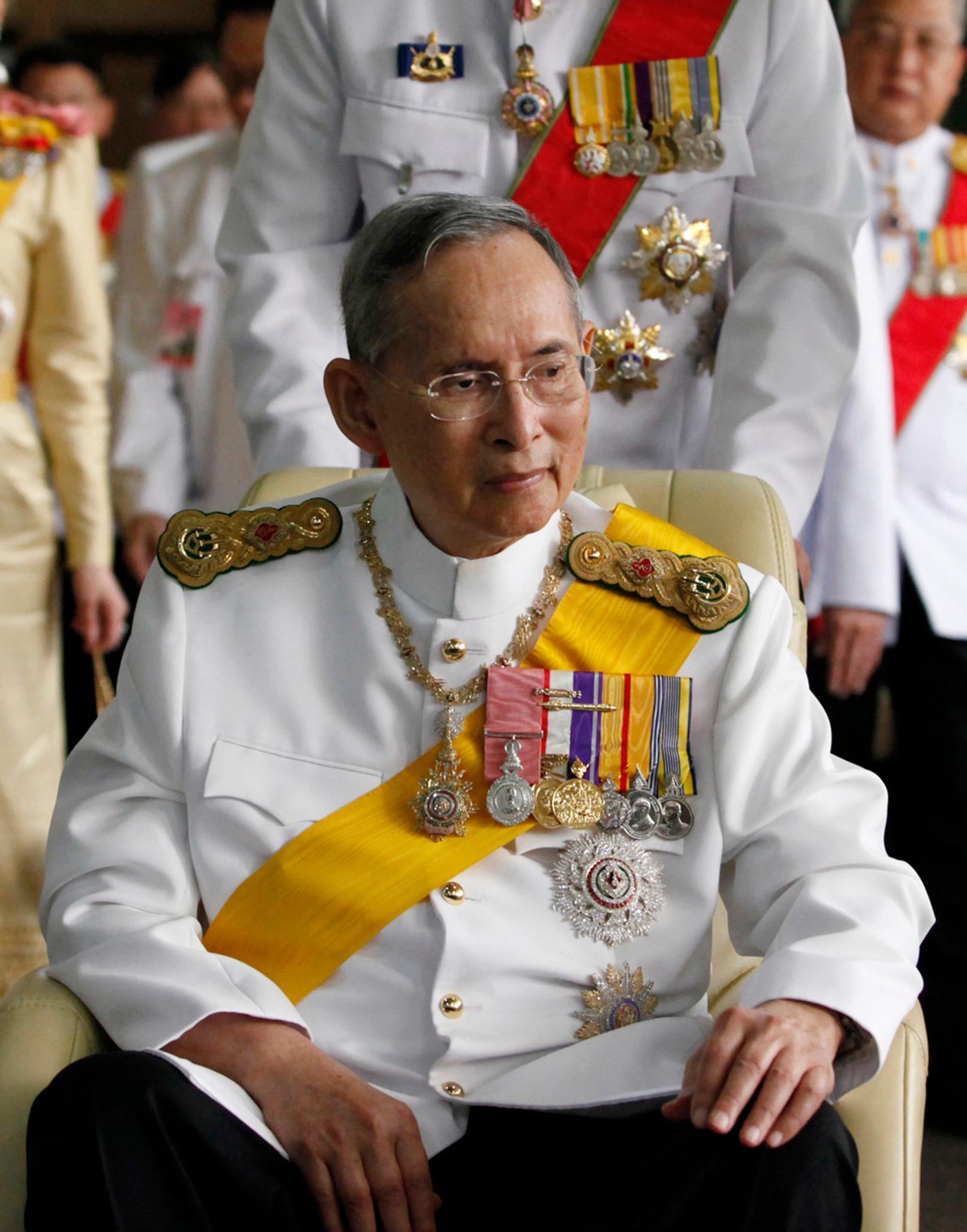 König Bhumibol Adulyadej 2012