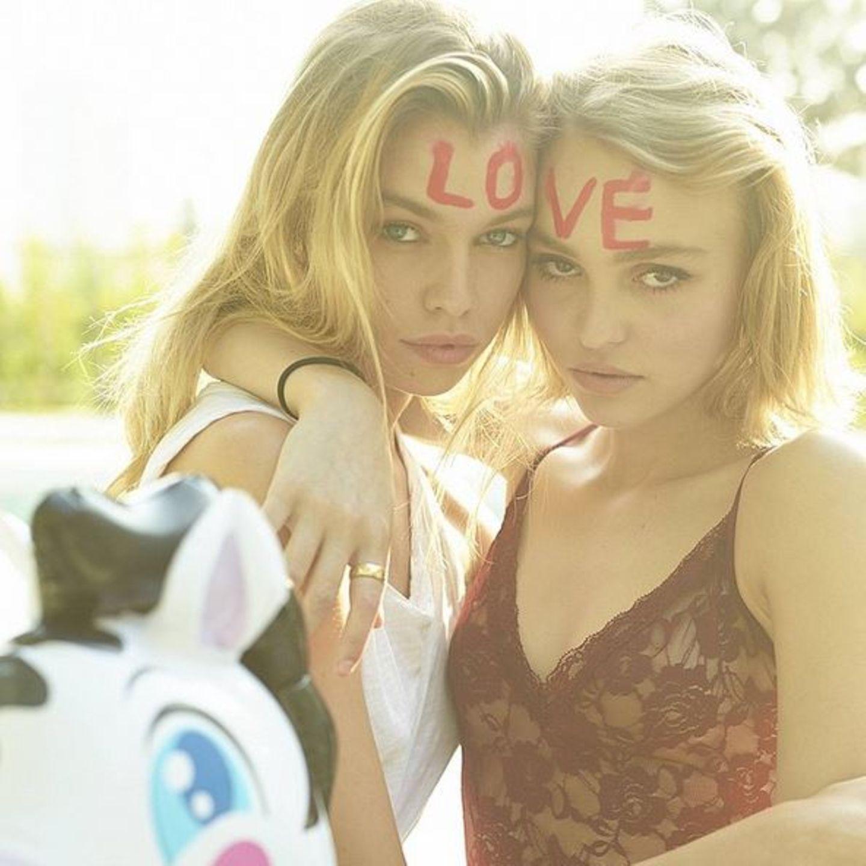 Stella Maxwell, Lily-Rose Depp