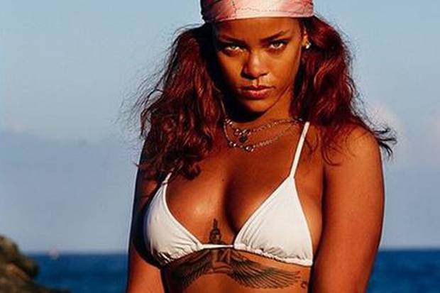 Auch Rihanna macht den Social-Media-Trend mit.