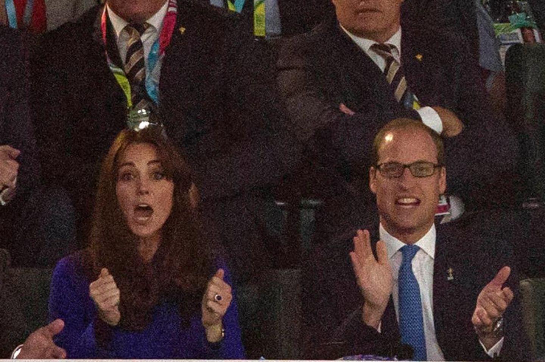 Herzogin Catherine, Prinz William + Prinz Harry