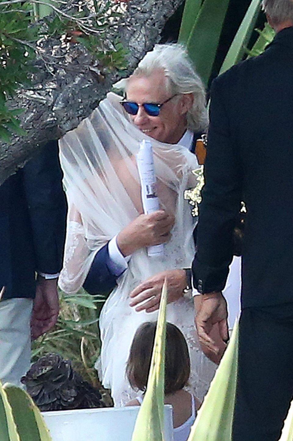 Bob Geldof heiratet Jeanne Marine.