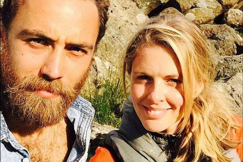 Da war noch alles in Ordnung: Donna postete vor wenigen Wochen dieses Foto von einem gemeinsamen Ausflug mit James.