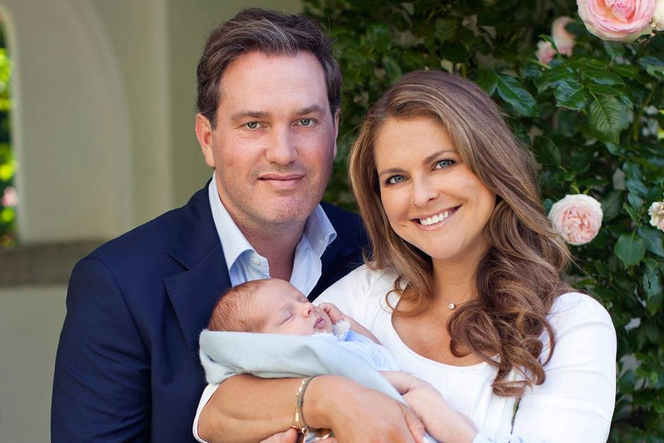 Chris O'Neill, Prinzessin Madeleine und Prinz Nicolas