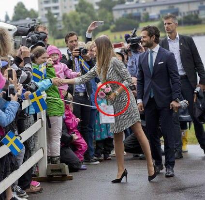 Beim Besuch in Värmland zeigte sich Prinzessin Sofia mit ihrer neuen Uhr.