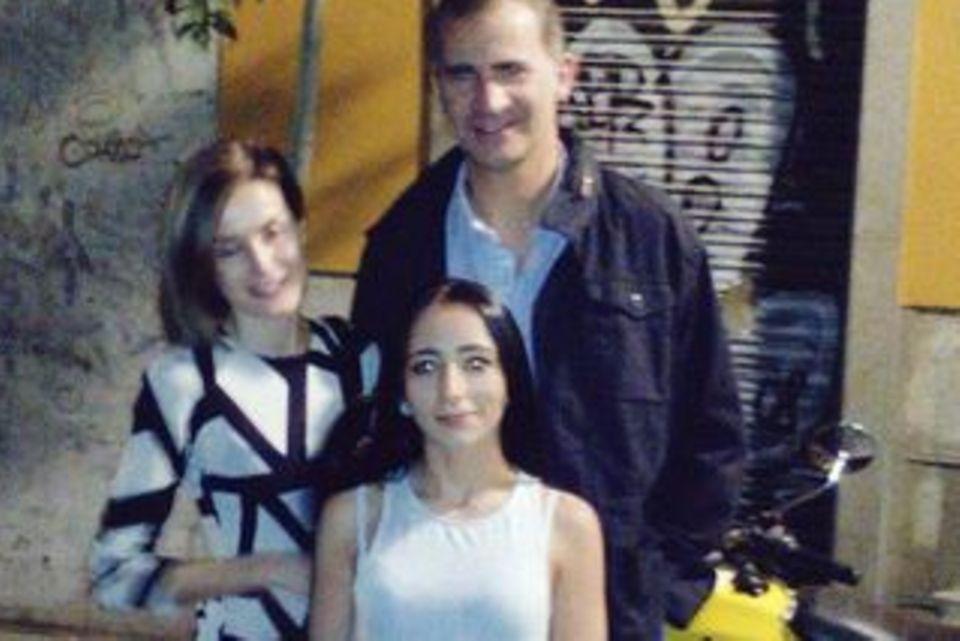 Letizia und Felipe von Spanien, ein Twitter-Fan