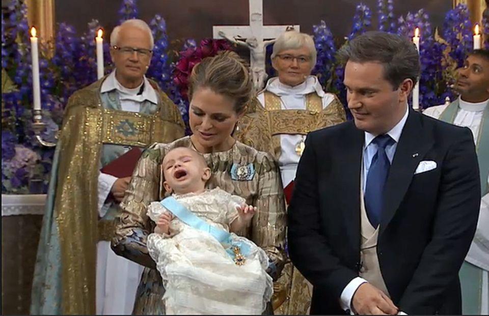 Den Orden vom König findet Prinz Nicolas zum Schreien.