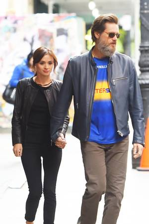 Cathriona White, Jim Carrey