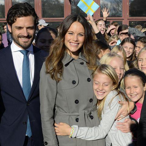 Prinz Carl Philip, Sofia von Schweden