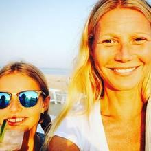 Schöner Schnappschuss: Gwyneth Paltrow (ungeschminkt) mit ihrer Tochter Apple.