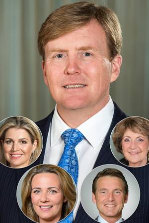 König Willem-Alexander + Co.