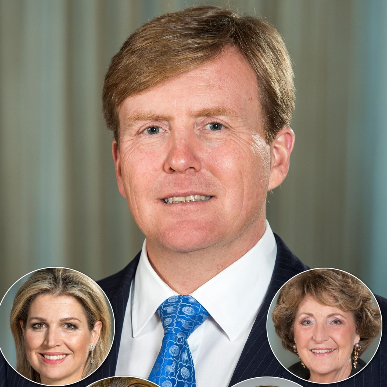 König Willem-Alexander + Co.