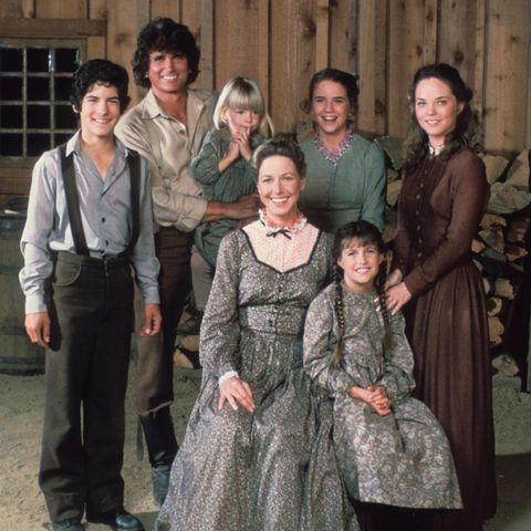 """So kennt man Familie Ingalls aus der Serie """"Unsere kleine Farm""""."""