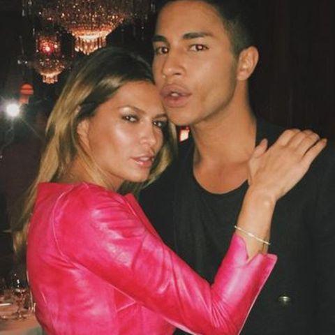 Sabia Boulahrouz + Olivier Rousteing