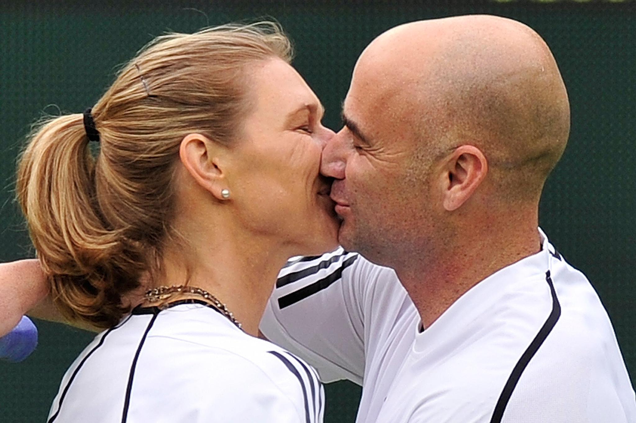 Immer ein gutes Team - egal ob auf dem Tennisplatz oder Zuhause.