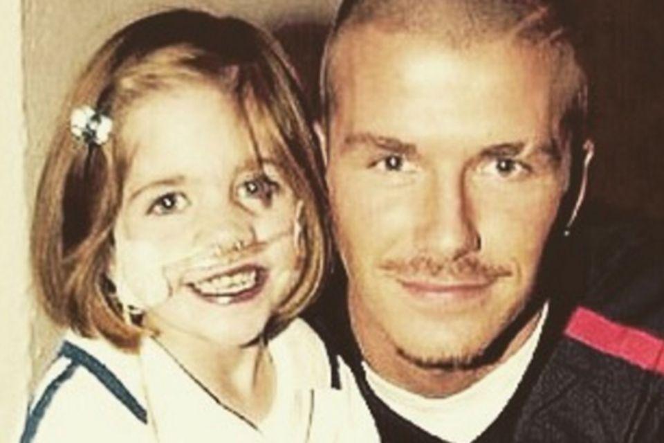Kirsty Howard mit David Beckham