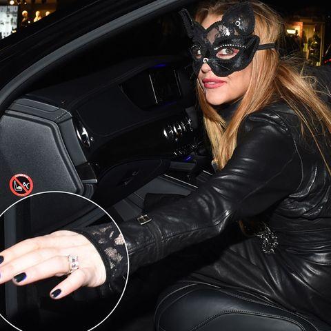 Lindsay Lohan: Mit Fake-Verlobungsring auf der Party