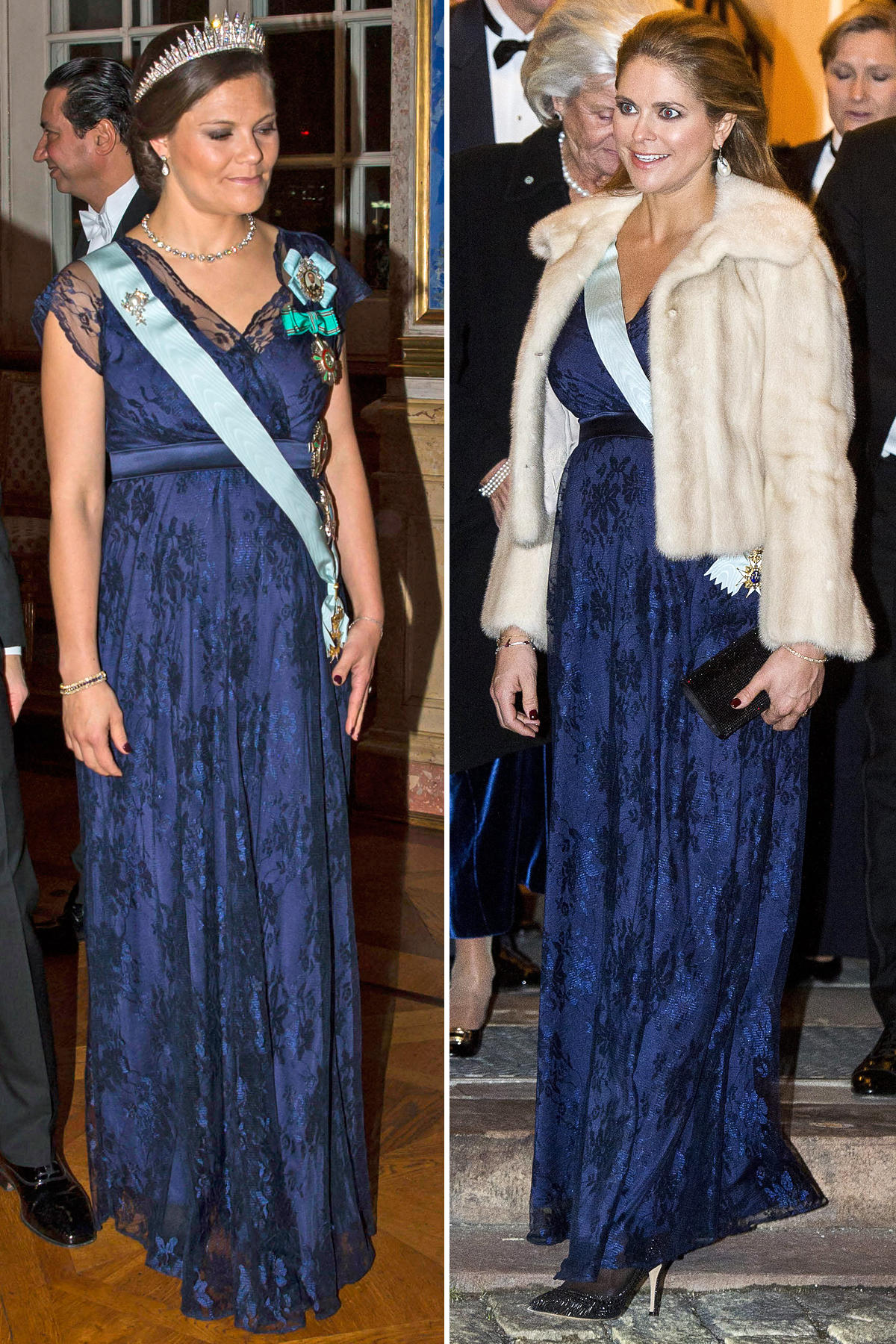 Kronprinzessin Victoria + Prinzessin Madeleine