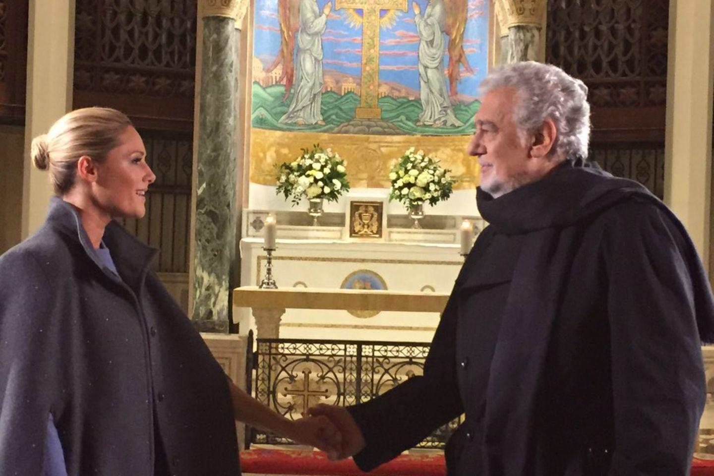 Helene Fischer, Plácido Domingo