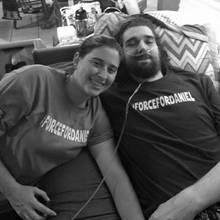Daniel Fleetwood mit seiner Frau Ashley