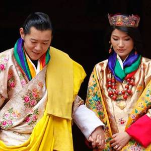 König Jigme, Königin Jetsun von Bhutan