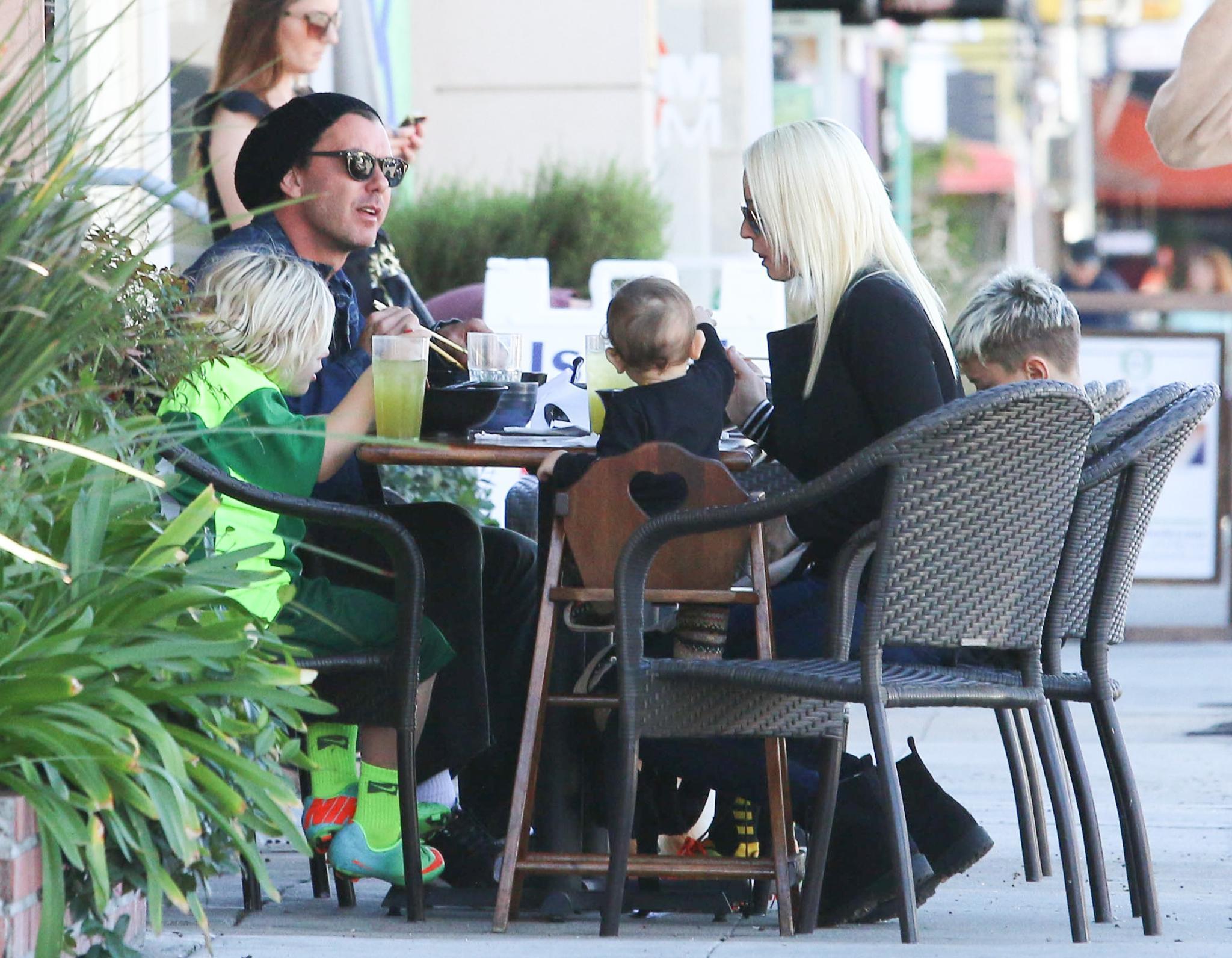 Gavin Rossdale und Nanny Mindy Mann
