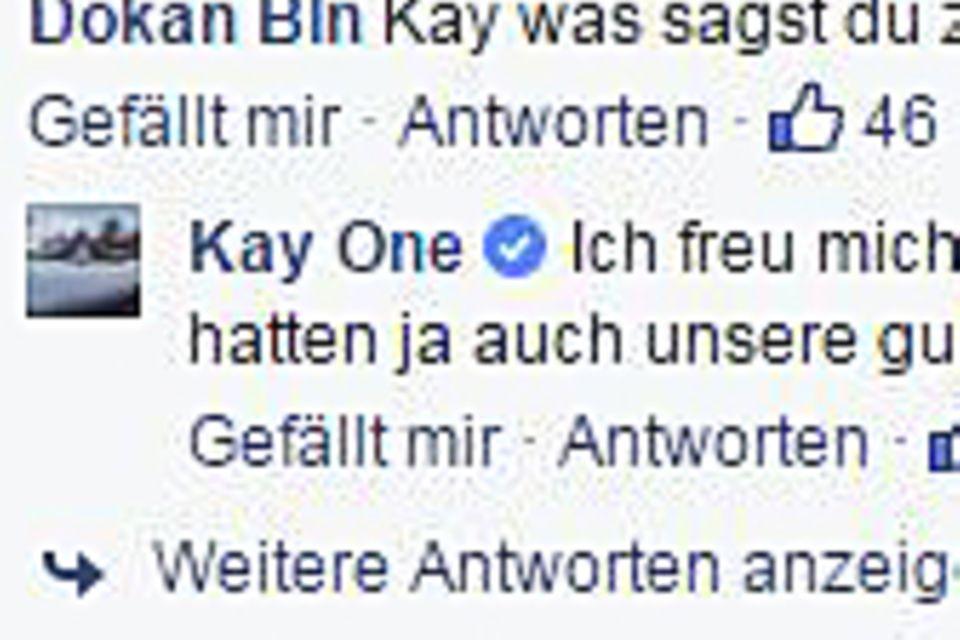 Kay One: Jetzt äußert er sich zum Liebes-Comeback