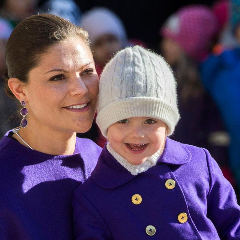 Prinzessin Victoria mit Tochter Estelle