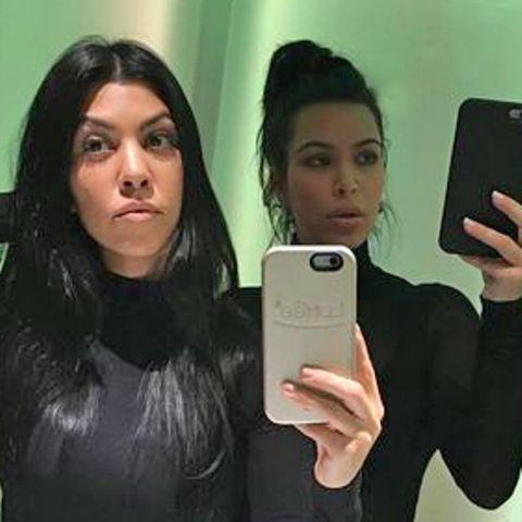 Kourtney + Kim Kardashian