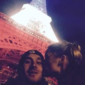 Samuel Koch und Sarah Elena Timpe in Paris